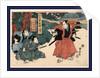 Yodanme, Act four of the Chushingura by Utagawa Kuniyasu