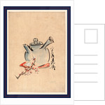 Teapot with Cherry or Plum Blossoms by Anonymous