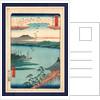 Katada no rakugan, Descending geese at Katada by Ando Hiroshige