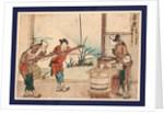 Yoshiwar by Katsushika Hokusai