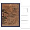 Nidanme, Act two of the Kanadehon Chushingura by Katsushika Hokusai