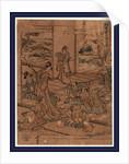 Yodanme, Act four of the Kanadehon Chushingura by Katsushika Hokusai