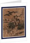 Godanme, Act five of the Kanadehon Chushingura by Katsushika Hokusai
