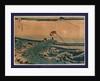 Koshu kajikazaw by Katsushika Hokusai