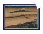 Bushu tamagawa, Tama River in Bushu by Katsushika Hokusai