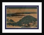 Aoyama enza no matsu, The cushion pine at Aoyama by Katsushika Hokusai