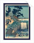 Toto aoigaoka no taki, Aoi gaok waterfall by Katsushika Hokusai
