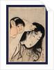 Yamauba No Kami O Tsukamu Kintaro, Kintaro Grabbing Yamauba's Hair by Anonymous