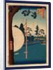 Takata no baba, Takata riding grounds by Ando Hiroshige