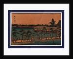 Shinobazu no ike, Shinobazu pond by Ando Hiroshige