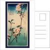 Kaido Ni Shokin, Small Bird on a Branch of Kaidozakura by Anonymous