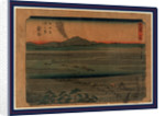 Shimada kanay by Ando Hiroshige