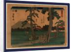 Yoshiwar by Ando Hiroshige