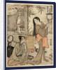 Kesagozen, Kesa Gozen of the Heian Period by Torii Kiyonaga