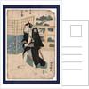 Seki sanjuro no ukai kujuro, The actor Seki Sanjuro in the role of Ukai Kujuro by Utagawa Toyokuni