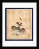 Benkeigani to tsubaki, Benkei crab and camellia by Katsushika Taito II