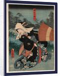 Tsuchiya no Umegawa, The courtesan Umegawa of the house of Tsuchi by Utagawa Toyokuni