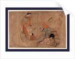 Daikoku to yujo, Daikoku and courtesan by Okumura Masanobu