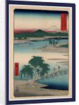 Musashi tamagawa, Tamagawa in Musashi Province by Ando Hiroshige