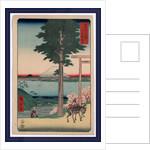Kazusa Kanozan, Mount Kano in Kazusa Province by Ando Hiroshige