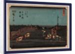 Nihonbashi akebono no zu by Ando Hiroshige