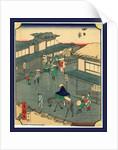 Yokkaich by Utagawa Hiroshige
