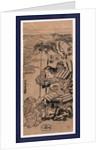 Chinzei hachiro tametomo, The warrior Chinzei Hachiro Tametomo by Kitao Shigemasa