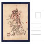Sake O Nomu Samurai, a Samurai Drinking Sake by Anonymous
