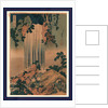 Mino no kuni yoronotaki, Yoro waterfall in Mino Province by Katsushika Hokusai