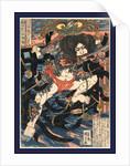 Rori hakucho chojun, Lang Libai and Fei Zhangfan by Utagawa Kuniyoshi