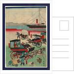 Atarashii norimono, New forms of transportation by Utagawa Kuniteru