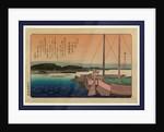 Shibaura no seiran, Clearing weather at Shibaura by Ando Hiroshige