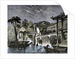 Honan Canal Canton China by Anonymous