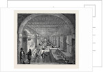 The Indo-Chinese Opium Trade, at an Opium Factory at Patna: The Mixing Room by Anonymous