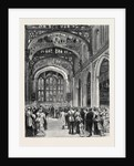 The Municipal Ball at the Guildhall, Reception of the Guests in the Library by Anonymous