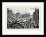 Leicester: Market Place, Saturday Afternoon by Anonymous