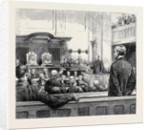 The Outrage on the Queen: Scene in the Assize Court, Reading, During the State Trial of Roderick Maclean by Anonymous