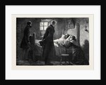 The Condition of Ireland: Mr. Forster Visiting a Victim of Captain Moonlight at Tulla, County Clare by Anonymous
