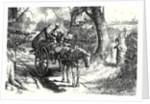 David Copperfield I Saw to My Amazement Peggotty Burst from a Hedge and Climb Into the Cart. by Anonymous
