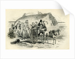 David Copperfield 'Mrs. Gummidge Casts a Damp on Our Departure' by Anonymous