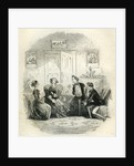 David Copperfield 'Traddles and Jin Conference with the Misses Spenlow' by Anonymous