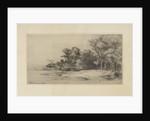 Landscape with farm by Remigius Adrianus Haanen