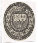 Arms of France and Navarre by Simon van de Passe