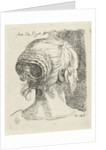 Head of a woman seen from behind by James Hazard