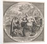 August: Fruit Vendor by Maerten de Vos