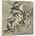 Mask in profile with two horns by Hans Liefrinck II