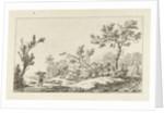Wood gatherer by Carel Lodewijk Hansen