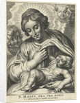 Mary with Child and cherubs by Peter Paul Rubens