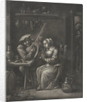 Couple making music by Jan van Somer