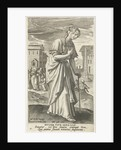 The bleeding woman by Cornelis Kiliaan